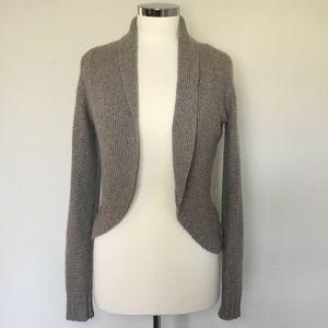 Velvet 100% Cashmere Open-Front Cardigan - Size S